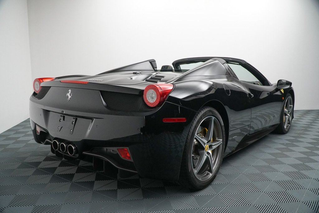 2015 ferrari 458 italia 2dr conv spider charlotte nc cornelius davidson huntersville north. Black Bedroom Furniture Sets. Home Design Ideas